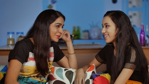 Teenage Indian daughter talking to her loving mother - Mother-daughter bonding