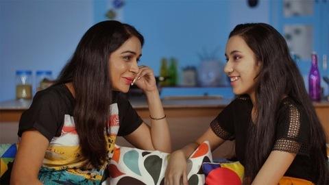 Teenage Indian daughter talking to her loving mother - Mother-daughter bonding