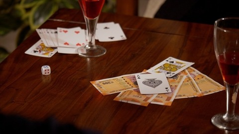 Card Game - Winner claiming amount after winning from opponent in the game of cards