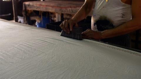 Block Printing - Handmade block printing in the textile industry