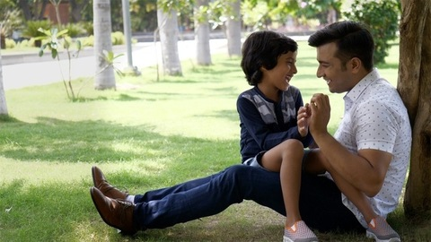 Young fun-loving father spending his weekend with his little kid - family concept